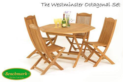 Westminster 4 Seater Set with Parasol