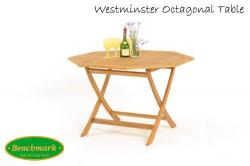 Westminster Octagonal 4 Seater Table
